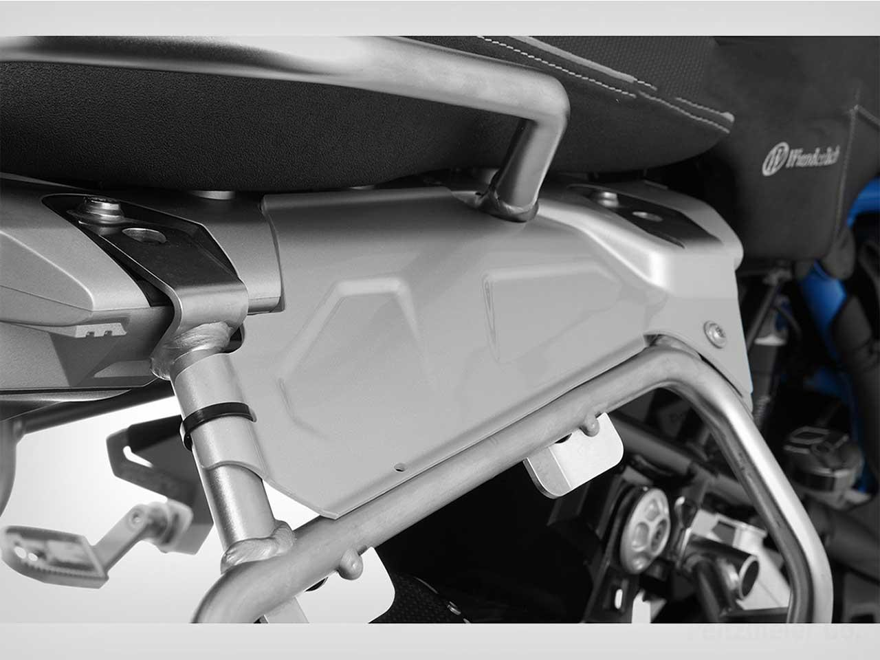 Wunderlich スプラッシュガード BMW純正パニアケースホルダー用 R1250GS/Adv /R1200GSLC/Adv