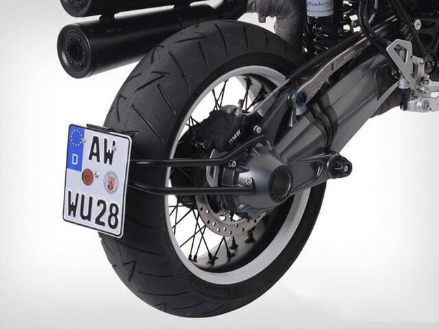 ワンダーリッヒ BMW RnineT スイングアームナンバープレートホルダー
