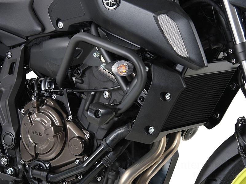 ヘプコ&ベッカー 正規品 エンジンガード ダークグレー Yamaha MT-07