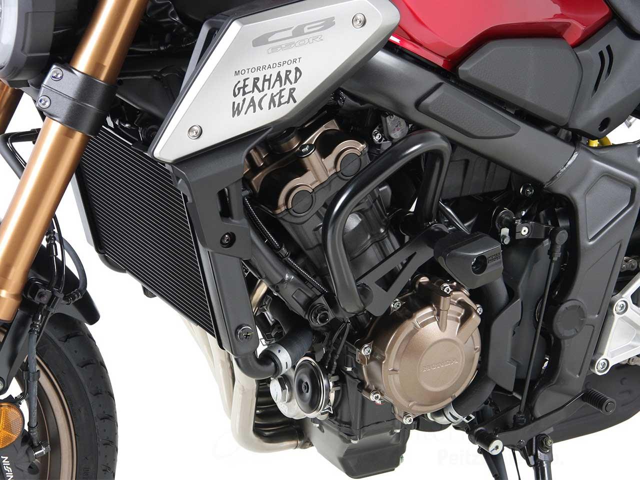 ヘプコ&ベッカー 正規品 エンジンガード Honda CB650R ('19-) / CB650F('14-)