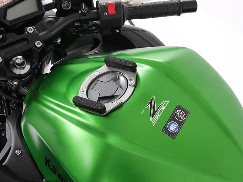 ヘプコ&ベッカー「Easy-Lock/イージーロック」(タンクバック「Street/Royster」用ホルダー) Kawasaki