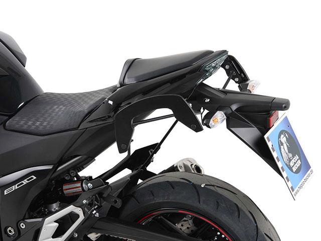 ヘプコ&ベッカー 正規品 サイドソフトケースホルダー(キャリア)「C-Bow」 Kawasaki Z800