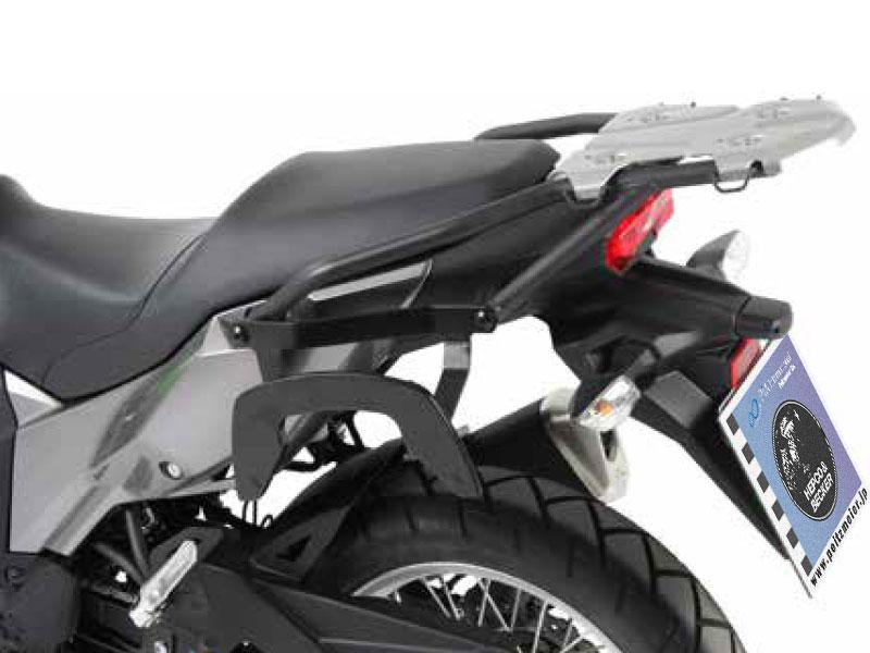 ヘプコ&ベッカー 正規品 サイドソフトケースホルダー(キャリア)「C-Bow」 Kawasaki Versys 250('17-)