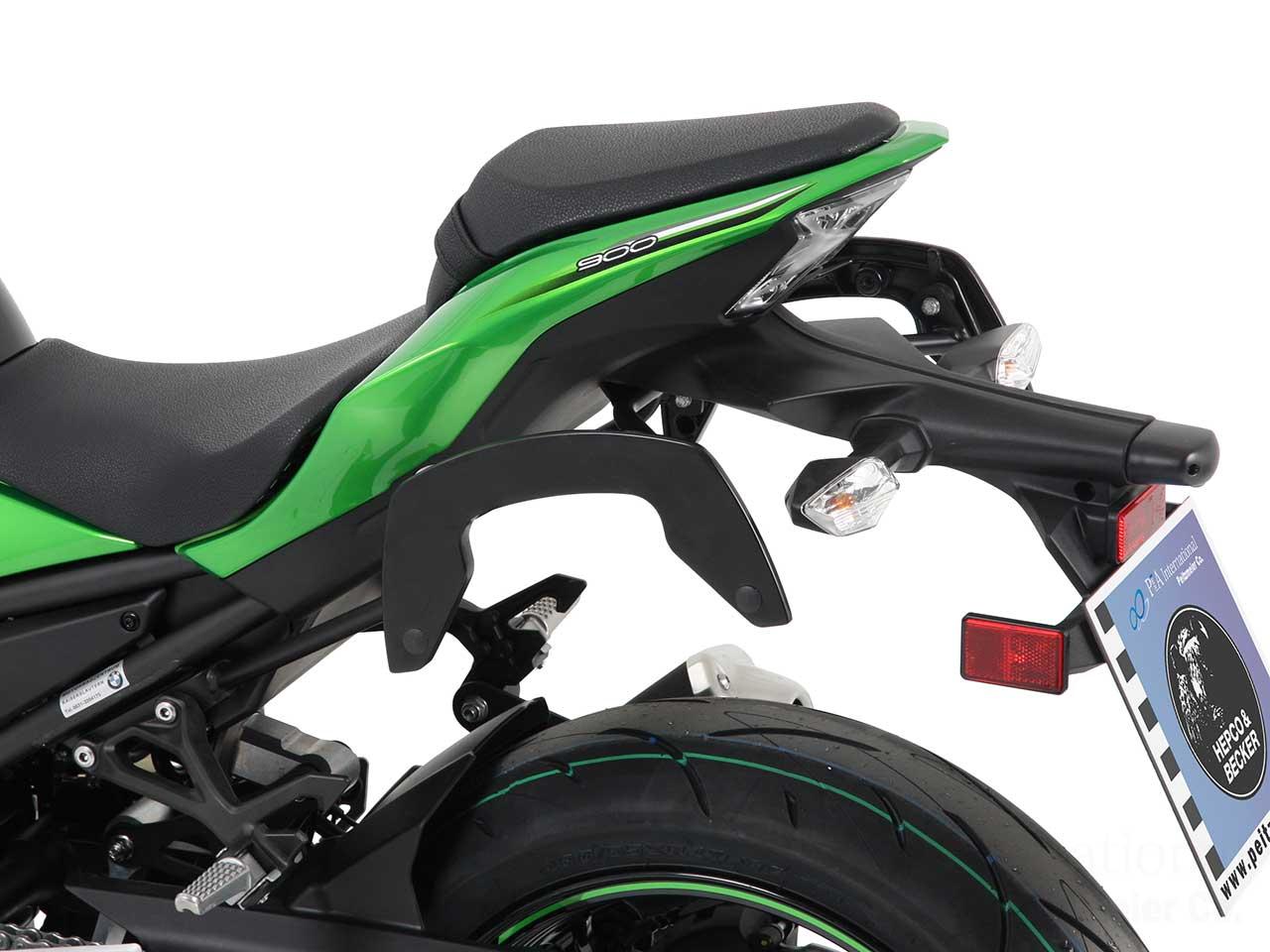 ヘプコ&ベッカー 正規品 サイドソフトケースホルダー(キャリア)「C-Bow」 Kawasaki Z900