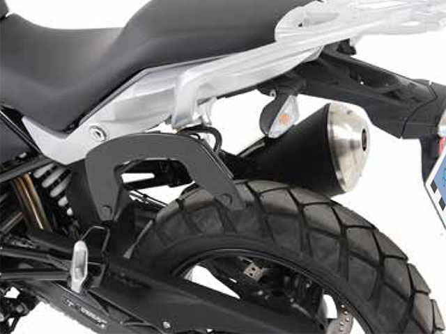 ヘプコ&ベッカー 正規品 サイドソフトケースホルダー(キャリア)「C-Bow」 BMW G310GS