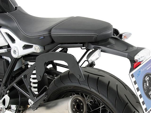 ヘプコ&ベッカー 正規品 サイドソフトケースホルダー(キャリア)「C-Bow」 BMW RnineT