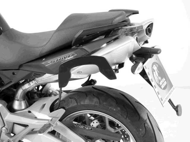 ヘプコ&ベッカー 正規品 サイドソフトケースホルダー(キャリア)「C-Bow」 aprilia SL 750 Shiver / GT