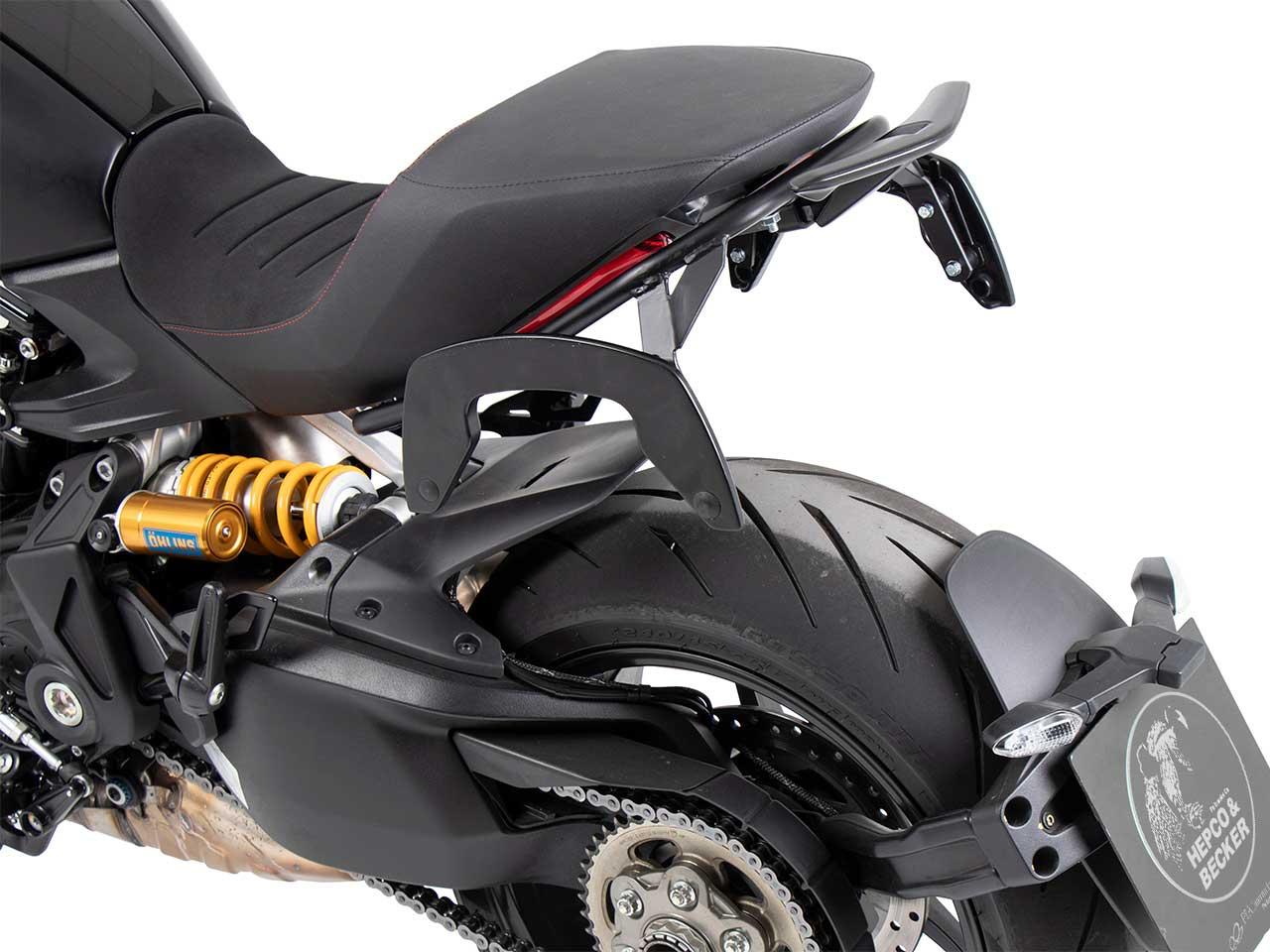 ヘプコ&ベッカー サイドソフトケースホルダー「C-Bow」 DUCATI Diavel 1260/S