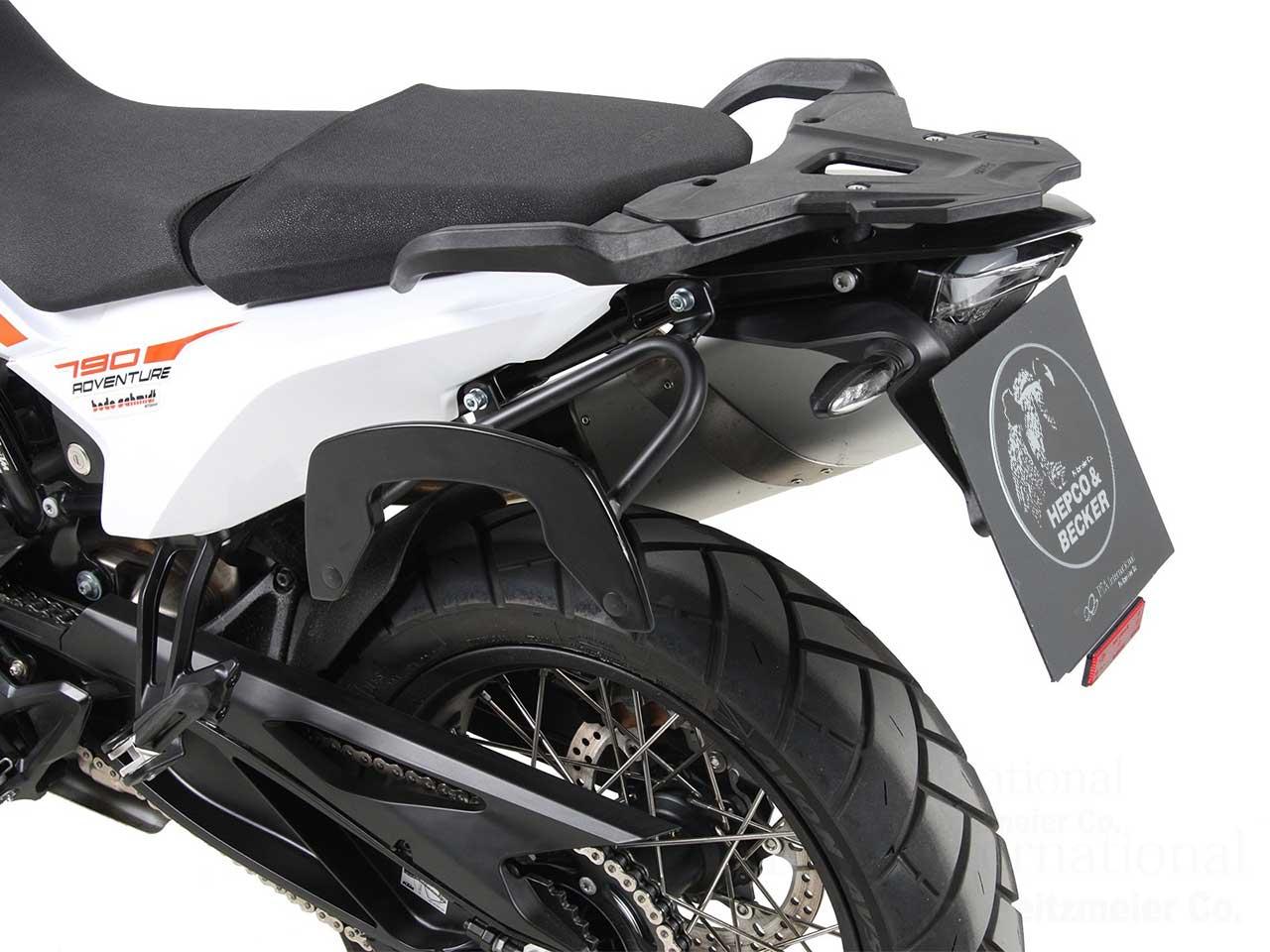 ヘプコ&ベッカー サイドソフトケースホルダー(キャリア)「C-Bow」KTM 790 Adventure/R