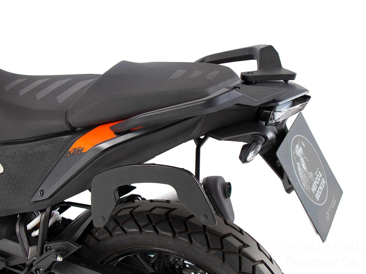 ヘプコ&ベッカー サイドソフトケースホルダー「C-Bow」KTM 390 Adventure ('20-)