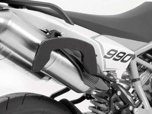 ヘプコ&ベッカー 正規品 サイドソフトケースホルダー(キャリア)「C-Bow」 KTM 990 Supermoto R