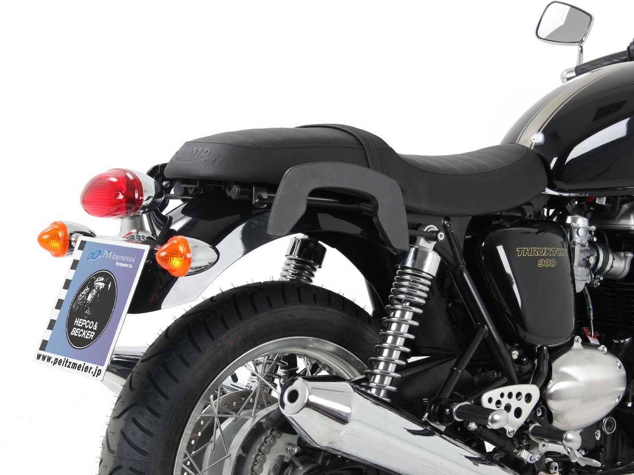 ヘプコ&ベッカー サイドソフトケースホルダー(キャリア)「C-Bow」 Triumph Thruxton