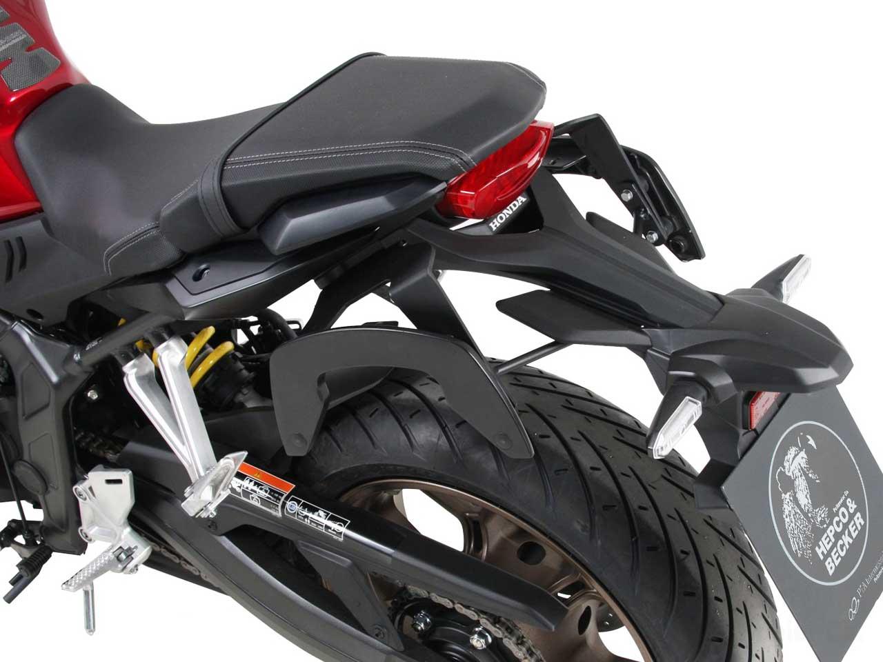 ヘプコ&ベッカー 正規品 サイドソフトケースホルダー(キャリア)「C-Bow」 Honda CB650R ('19-)