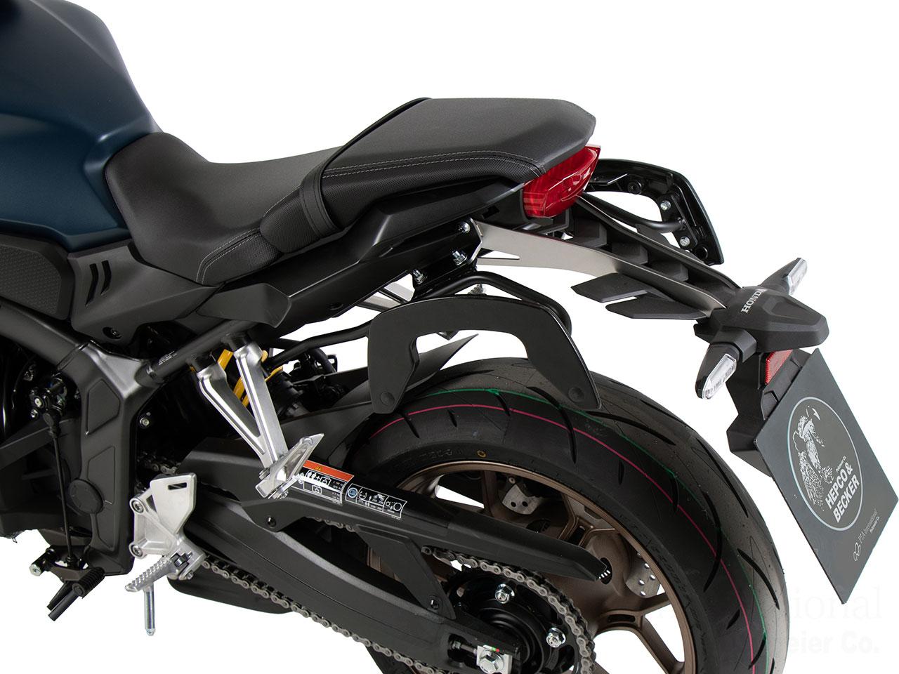 ヘプコ&ベッカー サイドソフトケースホルダー「C-Bow」Honda CB650R