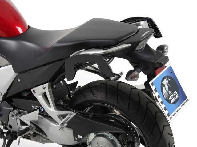 ヘプコ&ベッカー 正規品 サイドソフトケースホルダー(キャリア)「C-Bow」 VFR1200X Crosstourer