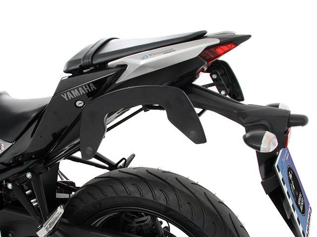 ヘプコ&ベッカー 正規品 サイドソフトケースホルダー(キャリア)「C-Bow」 ヤマハ Yamaha MT-03 / MT-25