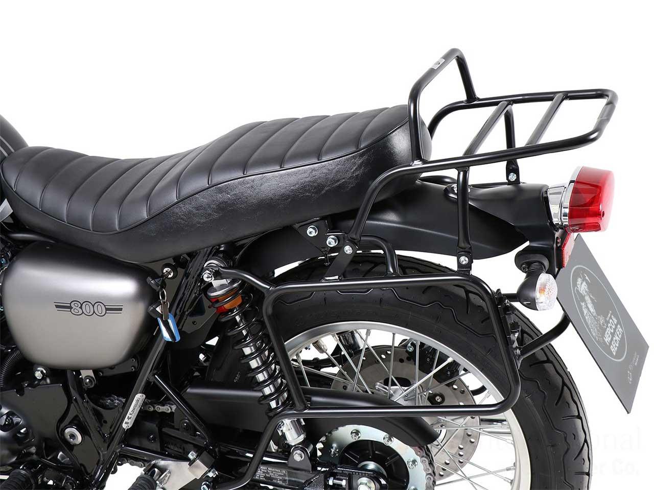 ヘプコ&ベッカー トップ+サイドケース コンプリートホルダー パイプタイプ Kawasaki W800 / cafe