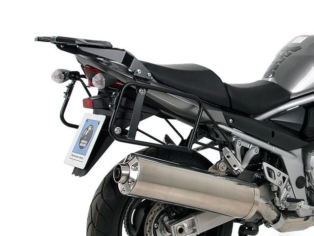 ヘプコ&ベッカー 正規品 SUZUKI Bandit 1200/S ('06) サイドケースホルダー(キャリア) (Lock it system) ブラック