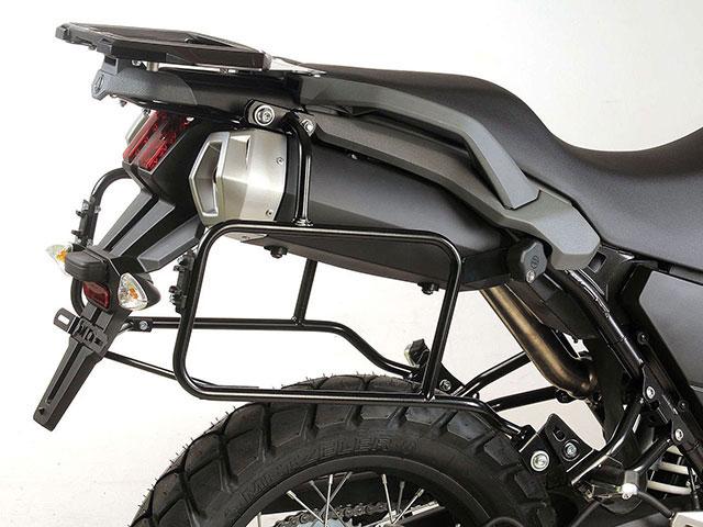 ヘプコ&ベッカー 正規品 YAMAHA XT660 Z Tenere サイドケースホルダー(キャリア)(Lock it system) ブラック