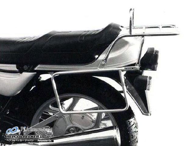 ヘプコ&ベッカー 正規品 サイドケースホルダー(キャリア) R100RS / R80RT / R65 G/S / R65 1本サスモデル