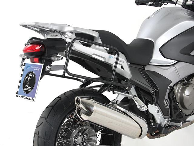ヘプコ&ベッカー 正規品 サイドケースホルダー(キャリア) (Lock it system) ブラック ホンダ VFR1200X Crosstourer (クロスツアラー)