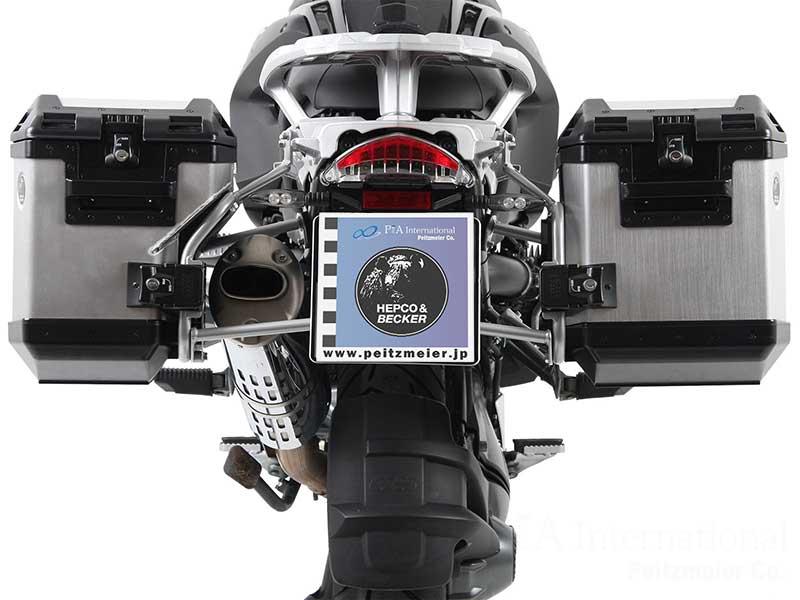 ヘプコ&ベッカー サイドケースホルダー + Xplorer(Cutout)セット R12GS / R1200GS Adventure.