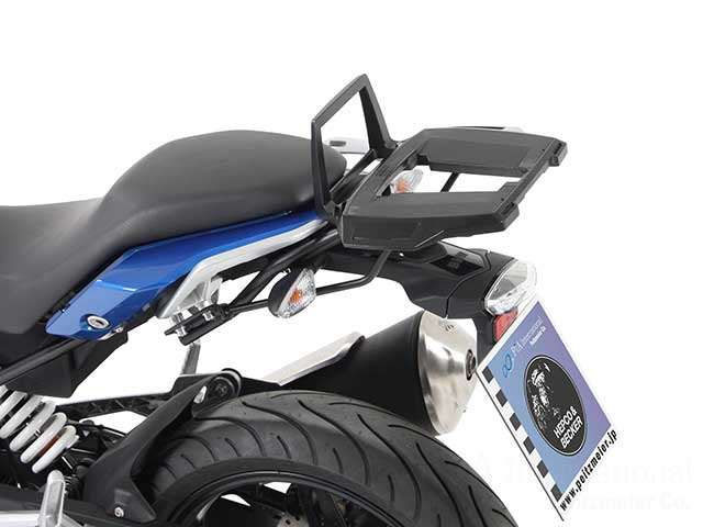 ヘプコ&ベッカー 正規品 トップケースホルダー(キャリア) (アルミラック) ブラック BMW G310R