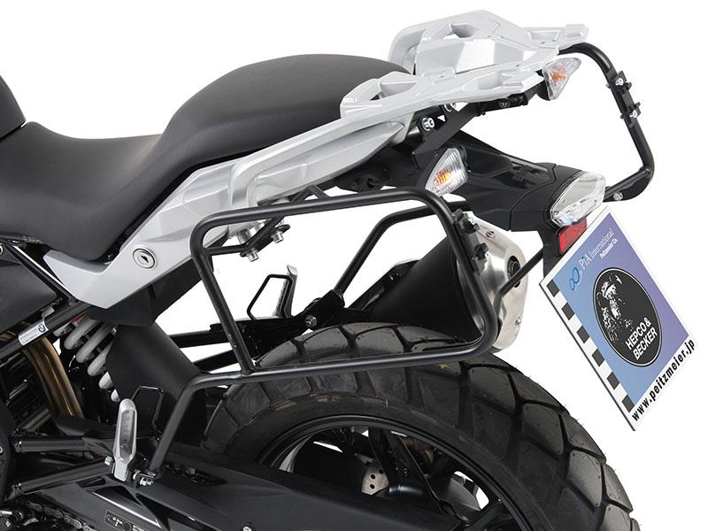 ヘプコ&ベッカー 正規品 サイドケースホルダー(キャリア)(Lock it system) BMW G310GS