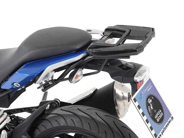 ヘプコ&ベッカー 正規品 トップケースホルダー(キャリア) (イージーラック) ブラック BMW G310R