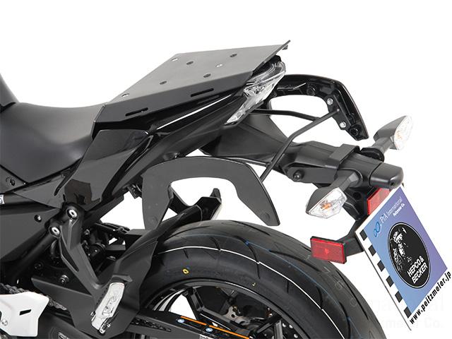ヘプコ&ベッカー 正規品 タンデムシート置換型リアラック「Speedrack EVO」 KAWASAKI Ninja650 / Z650