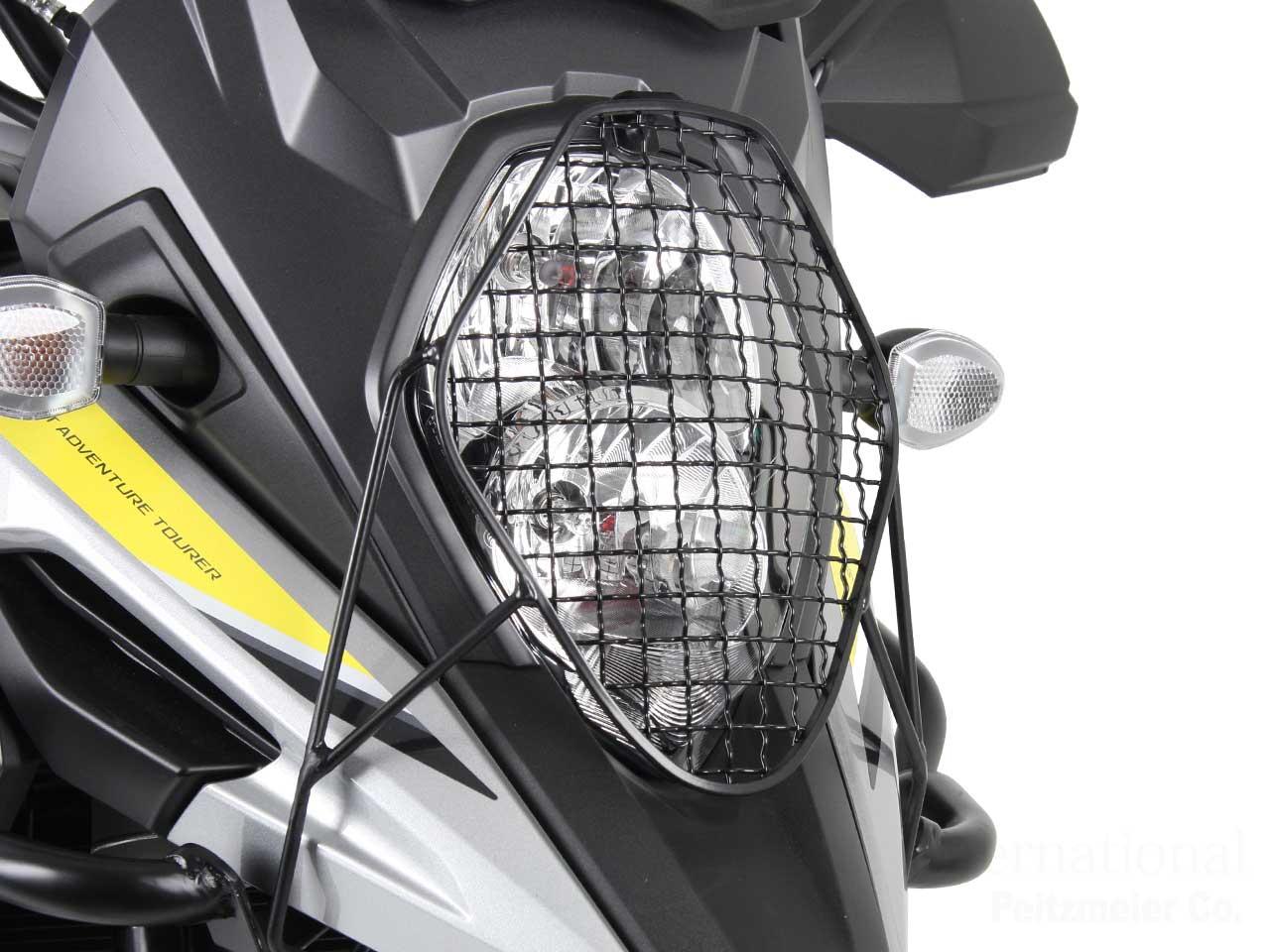 ヘプコ&ベッカー ヘッドライトグリル / ヘッドライトガード Vストローム1000