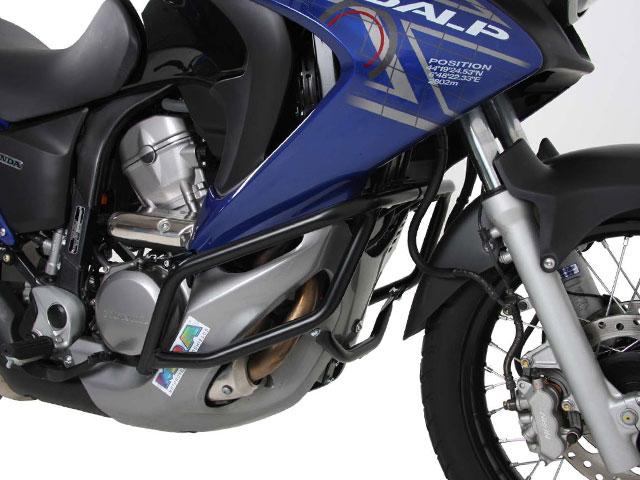 ヘプコ&ベッカー 正規品 エンジンガード HONDA XL700V Transalp ブラック