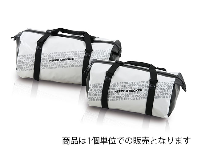 ヘプコ&ベッカー 正規品 ソフトバック 「Travel Zip」 ホワイト