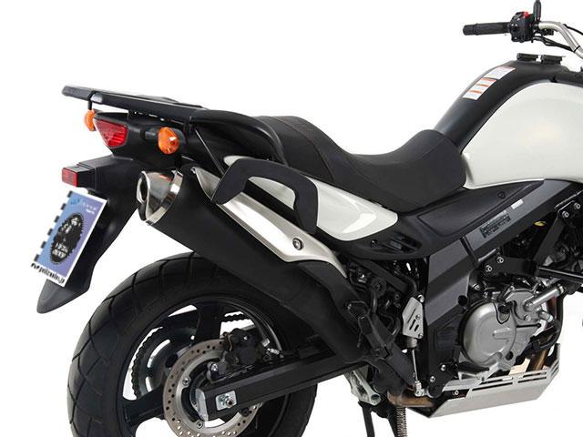 ヘプコ&ベッカー 正規品 サイドソフトケースホルダー(キャリア)「C-Bow」 SUZUKI DL650 V-Strom