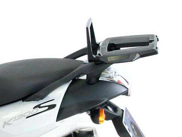 ヘプコ&ベッカー 正規品 BMW K1300S トップケースホルダー(キャリア) (イージーラック) ブラック