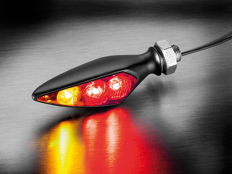 Kellermann / ケラーマン ウインカーRhombusS DF Dark/ ローンバスS DFダーク 尾灯/制動灯機能付きウインカー