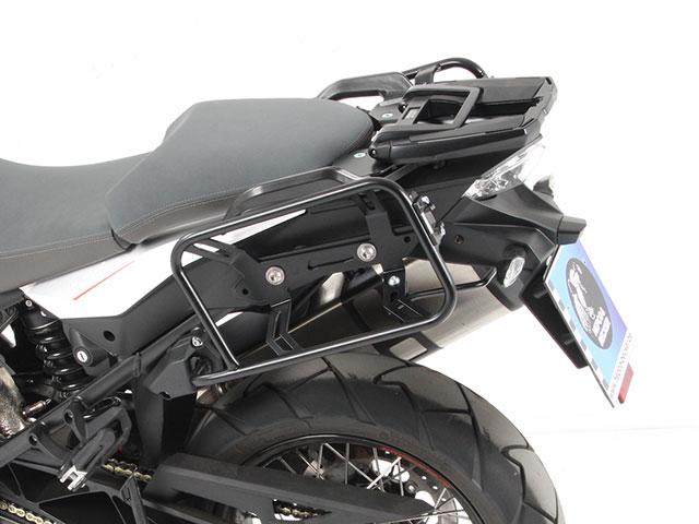 ヘプコ&ベッカー 正規品 KTM 1290 Super Adventure サイドケースホルダー(キャリア) (Lock it system) ブラック