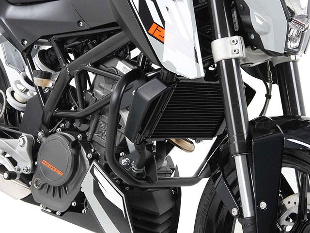 ヘプコ&ベッカー 正規品 エンジンガード ブラック KTM 125 Duke