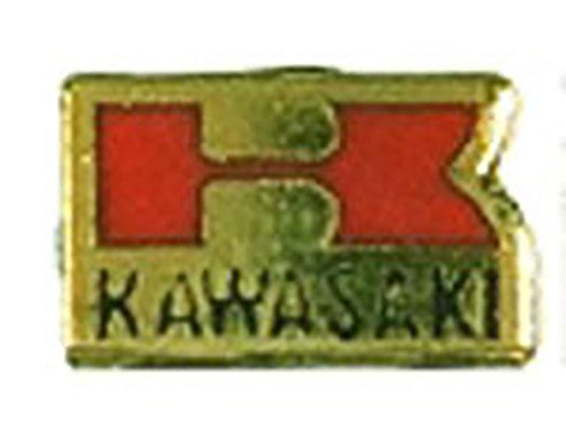 ピンバッチ Kawasaki ロゴ