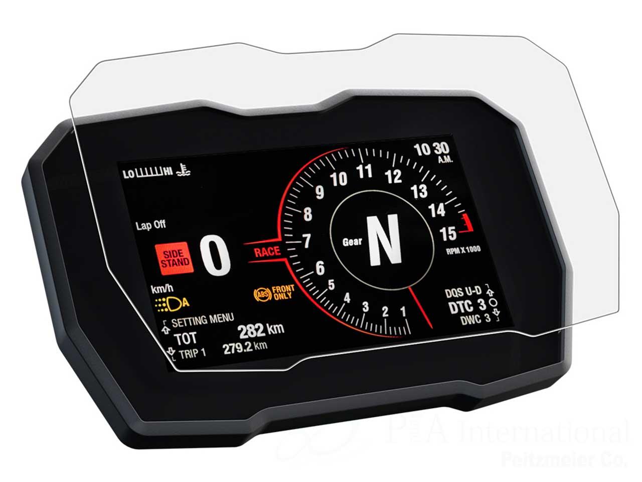 メーターパネルプロテクションフィルム & 作業用ツールセット for Ducati