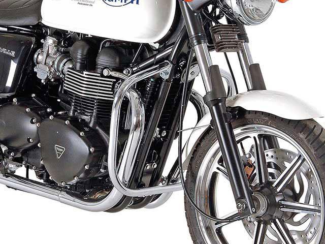 ヘプコ&ベッカー 正規品 エンジンガード Triumph Bonneville / Scrambler クローム