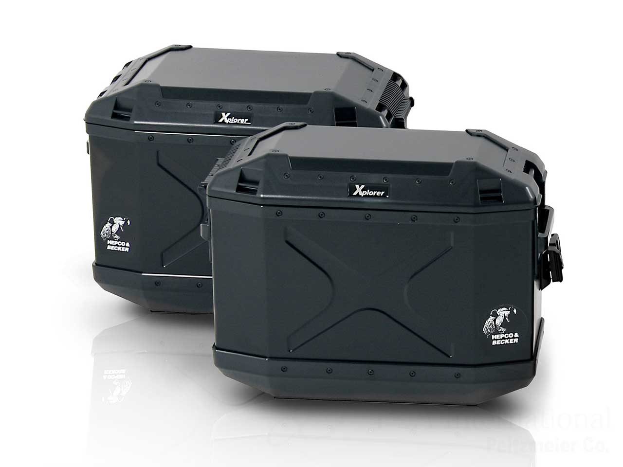 ヘプコ&ベッカー サイドケース エクスプローラー Xplorer 30 Black Edition
