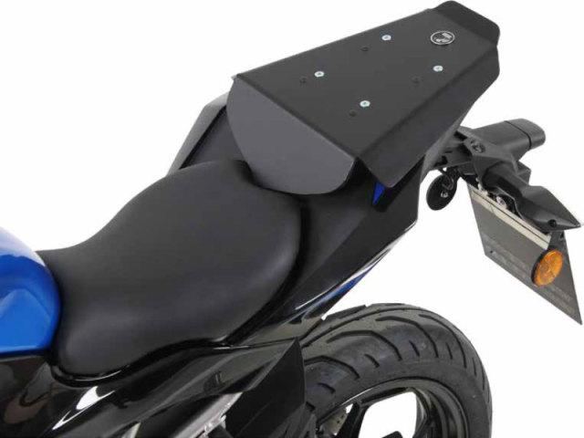 ヘプコ&ベッカー 正規品 タンデムシート置換型リアラック「Speedrack EVO」 Kawasaki Z125('18-)