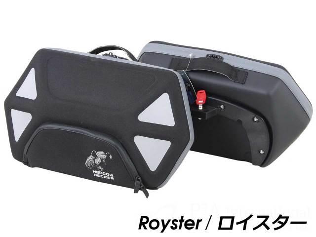 ヘプコ&ベッカー ホルダー+バックセット C-Bow + StreetNEO / Royster / Orbit