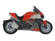 ピンバッチ Ducati Diavel