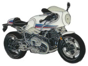 ピンバッチ BMW RnineT Racer