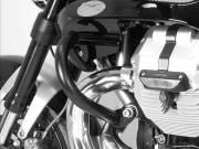 ヘプコ&ベッカー 正規品 エンジンガード (ブラック) MotoGuzzi Griso 1100