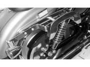 ヘプコ&ベッカー 正規品 サイドソフトケースホルダー(キャリア)「C-Bow」 ハーレー スポーツスター