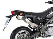 ヘプコ&ベッカー 正規品 サイドソフトケースホルダー(キャリア)「C-Bow」 Kawasaki D-Tracker125('10-'12)