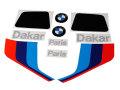 ガスタンク用デカール エンブレム タンクパットセット BMW R80 G/S P.D.